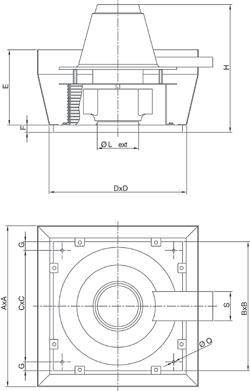 Размеры TR ED-V
