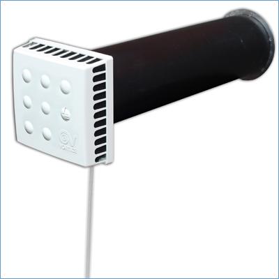 Приточный клапан КИВ Квадро (Kiv Quadro)