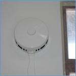 Приточный клапан КИВ внутри помещения