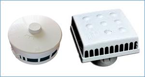 Оголовок  приточного клапана КИВ-125 и КИВ Квадро