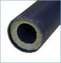 Пластиковый канал (труба) и теплошумоизоляция приточного клапана КИВ