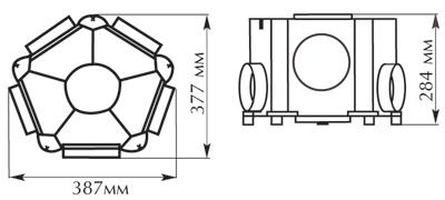 Размеры Vort Leto Mev